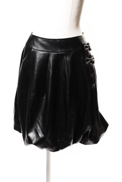 【新入荷!!】ルネRene フェイクレザーバルーンスカート[LSKP37830]【FF】【中古】【5400円以上のご購入で送料無料】