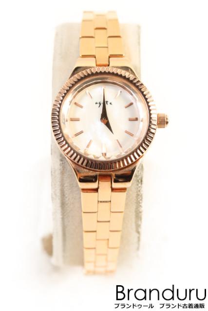 【新入荷!!】アガットagete AGETE18YG ブレスレットジュエリー 腕時計[LWWP34676]【中古】【5400円以上のご購入で送料無料】