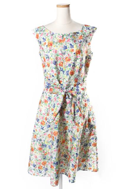 トッカTOCCA 18SS 洗える BLOOMING FLOWER ドレス[LOPP42465]【SS】【中古】【5400円以上のご購入で送料無料】