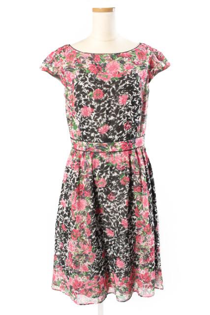 【新入荷!!】トッカTOCCA 16SS 洗える SPRING ANADEM ドレス[LOPP73591]【PP】【中古】【5400円以上のご購入で送料無料】
