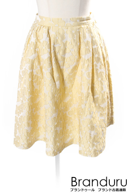 【7月20日に初値下げ!】トッカTOCCA 17SS FLOWER WALTZ スカート[LSKP21982]【PP】【中古】【5400円以上のご購入で送料無料】