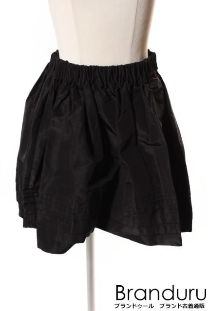 【7月31日に再値下げ!】プラダPRADA AD2016ギャザースカート[LSKP22504]【PP】【中古】【5400円以上のご購入で送料無料】
