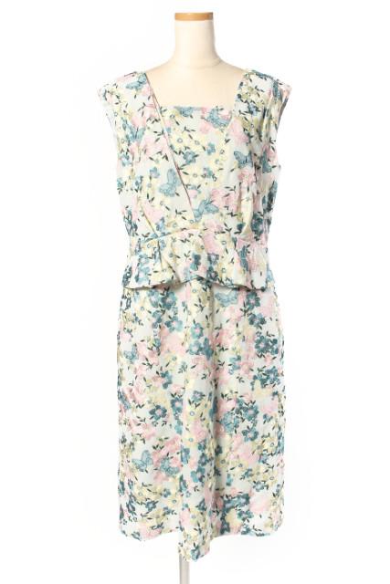 【3月22日に再値下げ!】トッカTOCCA 18SS SEA BUTTERFLY ドレス[LOPP41695]【PP】【中古】【5400円以上のご購入で送料無料】【720190226】