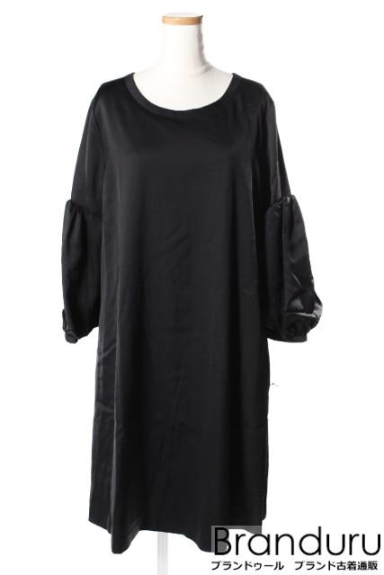 【春夏物新入荷!!】フォクシー ニューヨーク 36611 Cupra Satin Novelty Sleeve Dress ワンピース[LOPP36907]【PP】【中古】【5400円以上のご購入で送料無料】