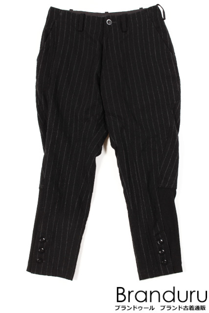 【新入荷!!】Y'sワイズ ストライプジョッパーズパンツ[LPTO95851]【FF】【中古】【5400円以上のご購入で送料無料】
