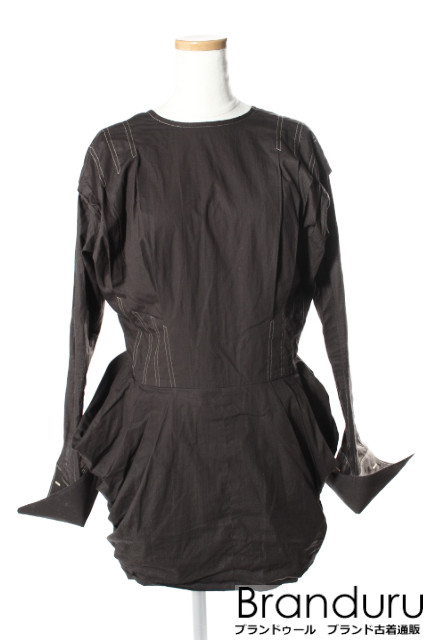 【新入荷!!】FUMIKA UCHIDA 17SS TUCKKING ドレス[LOPP24749]【PP】【中古】【5400円以上のご購入で送料無料】