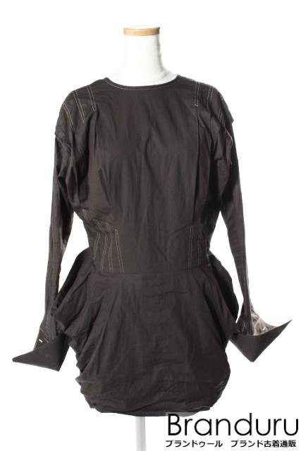 FUMIKA UCHIDA 17SS TUCKKING ドレス[LOPP24749]【PP】【中古】【5400円以上のご購入で送料無料】