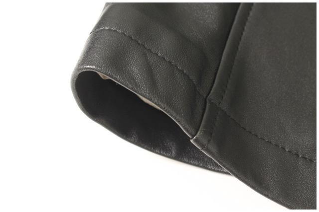 入荷時より値下げランバンオンブルー 2Bラムレザージャケット MJKO43404FF5400円以上のご購入で送料無料rsthdQ