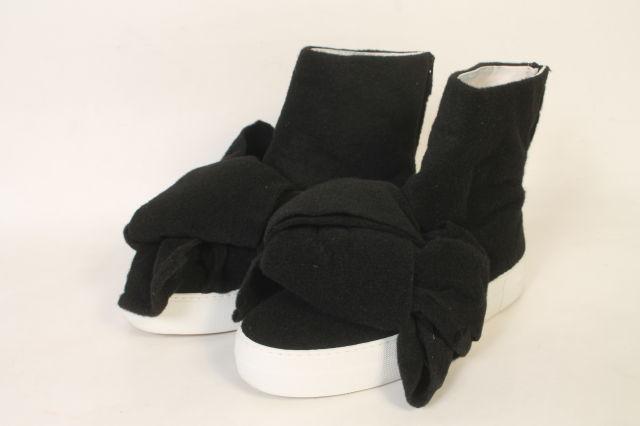 【新入荷!!】Joshua SANDERS Felted Wool Platform BOW ハイカットスニーカー[LFWO88117]【FF】【中古】【5400円以上のご購入で送料無料】