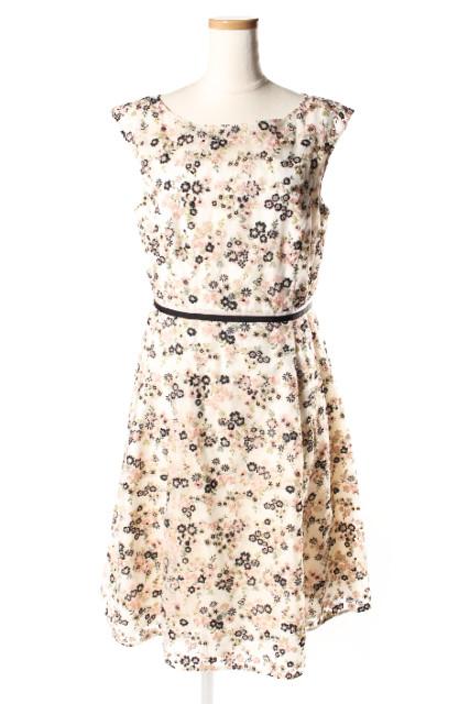 【1月1日に再値下げ!】トッカTOCCA 18AW PARIS DAISY ドレス[LOPP69394]【FF】【中古】【5400円以上のご購入で送料無料】