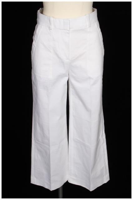 【7月20日に初値下げ!】セオリーtheory 18SS Stretch Canvas Hw Wide Pant SL パンツ[LPTP24993]【PP】【中古】【5400円以上のご購入で送料無料】