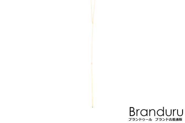 【新入荷!!】エナソルーナ K10YG Shining road necklaceネックレス[LACP30755]【中古】【5400円以上のご購入で送料無料】