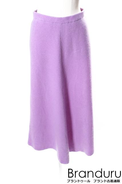 【新入荷!!】MYLANマイラン 16AWリブニットスカート[LSKP30617]【FF】【中古】【5400円以上のご購入で送料無料】