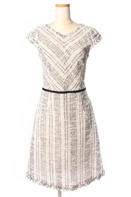 【新入荷!!】トッカTOCCA 16SS PAPILLON TWEED ドレス[LOPP39876]【中古】【5400円以上のご購入で送料無料】