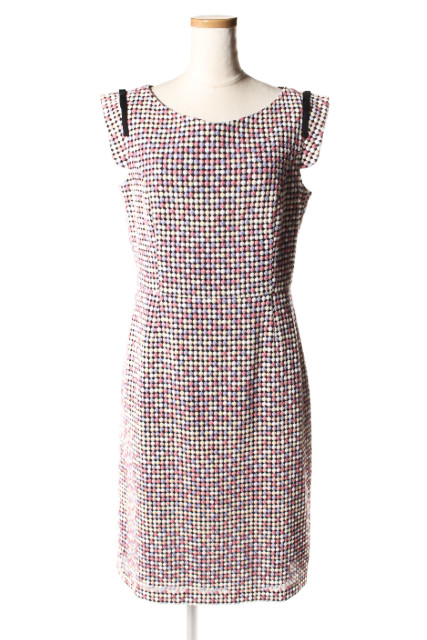【1月1日に再値下げ!】トッカTOCCA 16AW RAIN DROPS ドレス[LOPP68466]【FF】【中古】【5400円以上のご購入で送料無料】