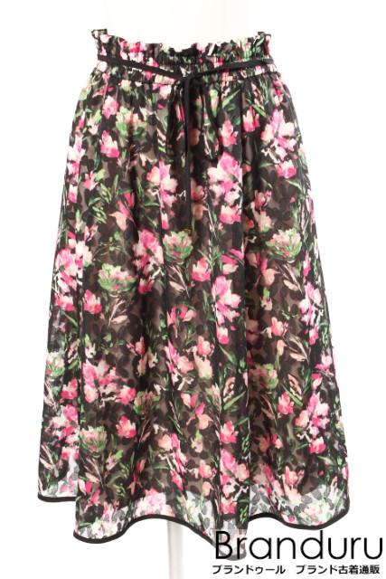 【新入荷!!】トッカTOCCA 18AW 洗える CROSSANDRA スカート[LSKP32111]【FF】【中古】【5400円以上のご購入で送料無料】