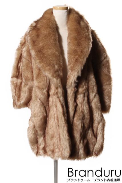 【新入荷!!】TODAYFULトゥデイフル Vintageファーケープジャケット[LJKP31137]【AW】【中古】【5400円以上のご購入で送料無料】