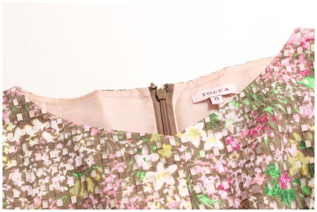 8月17日に再値下げ ポッキリ15000円 トッカTOCCA 洗える RICHLY ドレス ワンピース LOPO44656PP5400円以上のご購入で送料無料wXTOPliuZk