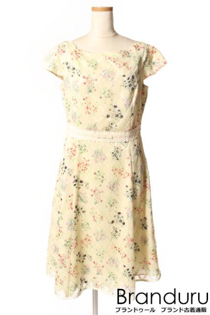【春夏物新入荷!!】トッカTOCCA 18SS FLORET PATTERN ドレス[LOPP34493]【PP】【中古】【5400円以上のご購入で送料無料】