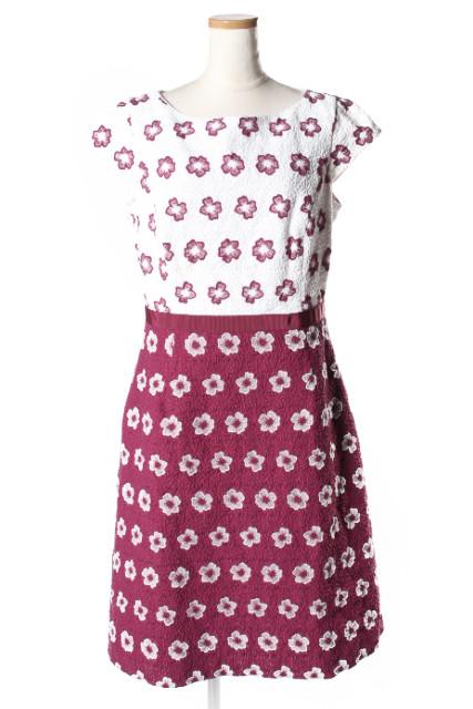 【1月1日に再値下げ!】トッカTOCCA 18AW 洗える!MARGARETドレス[LOPP54702]【FF】【中古】【5400円以上のご購入で送料無料】