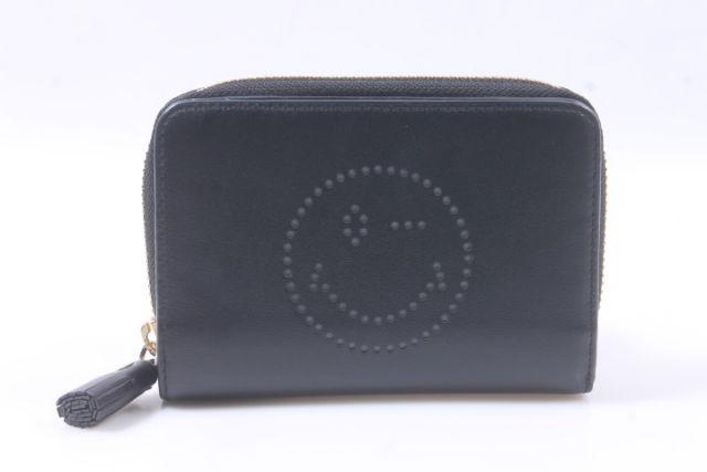 【新入荷!!】アニヤハインドマーチ Smiley Wink Compact Wallet 財布[LWTP73522]【中古】【5400円以上のご購入で送料無料】