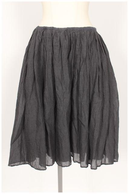 【7月6日に初値下げ!】トゥジューTOUJOURS シルク混ギャザースカート[LSKO21234]【PP】【中古】【5400円以上のご購入で送料無料】