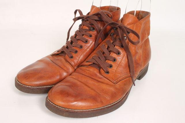 【新入荷!!】ミスターオリーブ WATER PROOF SHIRINK LEATHER 7 HOLE HUNTING ブーツ[MFWO87938]【FF】【中古】【5400円以上のご購入で送料無料】