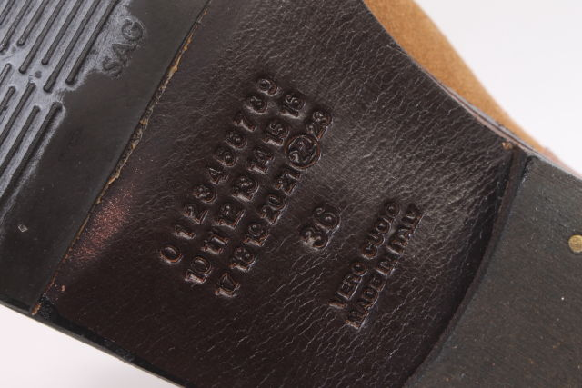 12月14日に再値下げ ポッキリ6000円 マルタンマルジェラ22 レプリカ スウェードロングブーツ LFWO70744FF5400円以上のご購入で送料無料kZuOPiTwXl