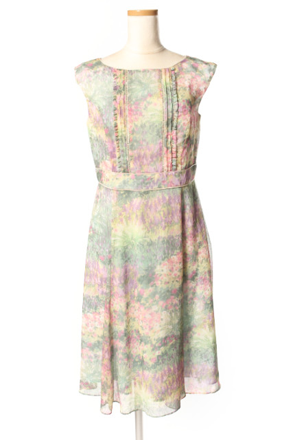【新入荷!!】トッカTOCCA 17SS 洗える! GRASS GROW ドレス[LOPP54462]【PP】【中古】【5400円以上のご購入で送料無料】