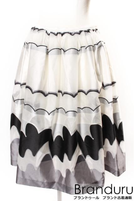 【春夏物新入荷!!】チェスティChesty 17SS JACQUARD DESIGN スカート[LSKP33948]【PP】【中古】【5400円以上のご購入で送料無料】