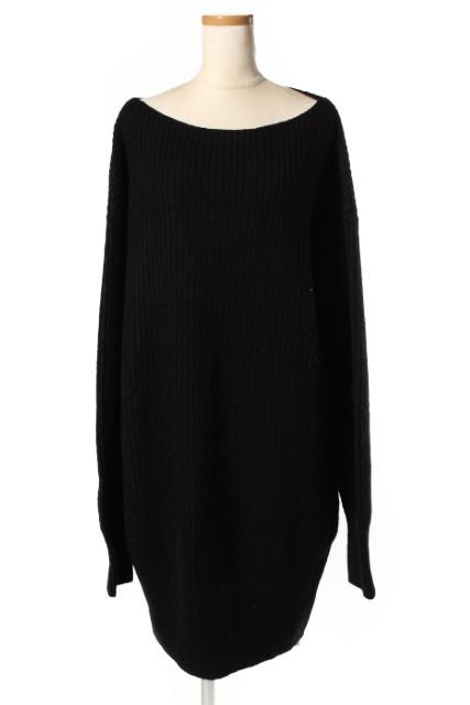 【新入荷!!】セオリーtheory 17AW Nimbus Wool Rib Cocoon Dress ワンピース[LOPP39972]【FF】【中古】【5400円以上のご購入で送料無料】