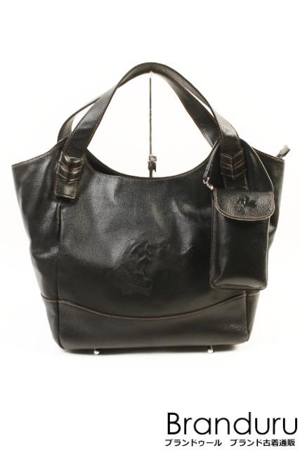 f7ede5ce85f rpfstore  Kitamura Kitamura dog type push leather handbag  LBGP10784 ...