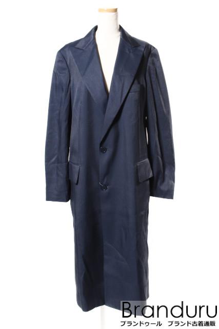 【春夏物新入荷!!】Y'sワイズ 18SS Pink label スリットロングジャケットコート[LCTP27072]【PP】【中古】【5400円以上のご購入で送料無料】