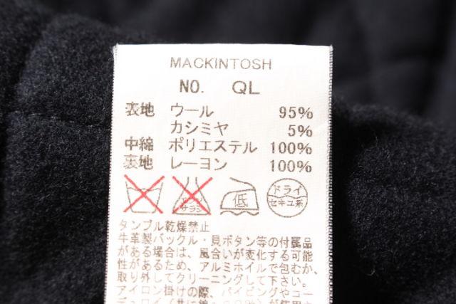 2月9日に再値下げ ポッキリ8000円 マッキントッシュ ウールカシミヤキルティング中綿コート LCTP05279AW5400円以上のご購入で送料無料720190216Rj4L5A3