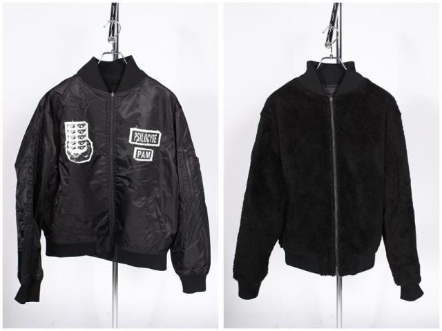 【入荷時より価格値下げ!】パムpam リバーシブルMA-1ジャケット[MJKO78645]【AW】【中古】【5400円以上のご購入で送料無料】