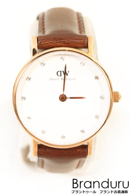 【7月20日に初値下げ!】Daniel Wellington Classy Sheffield Bristol 腕時計[LWWP23725]【中古】【5400円以上のご購入で送料無料】