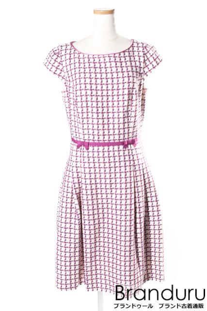 【新入荷!!】トッカTOCCA 15AW MACARON CHECK ドレス[LOPP26459]【FF】【中古】【5400円以上のご購入で送料無料】