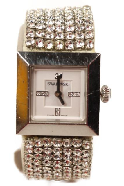 【3月22日に再値下げ!】スワロフスキー 1000673 Elis Crystal Mesh 腕時計[LWWP96132]【中古】【5400円以上のご購入で送料無料】【720190411】