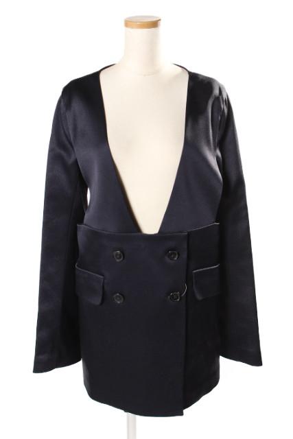 【3月22日に初値下げ!】ジルサンダー ノーカラーデザインジャケット[LJKP78339]【FF】【中古】【5400円以上のご購入で送料無料】