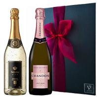 シャンドン ロゼ 正規品 & フェリスタス 金箔入り プレミアム スパークリングワイン セット シャンパン  ギフト
