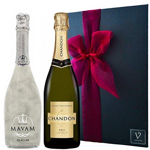 シャンドン ブリュット 正規品&マバムグラシア ラメ スパークリングワイン セットシャンパン  ギフト