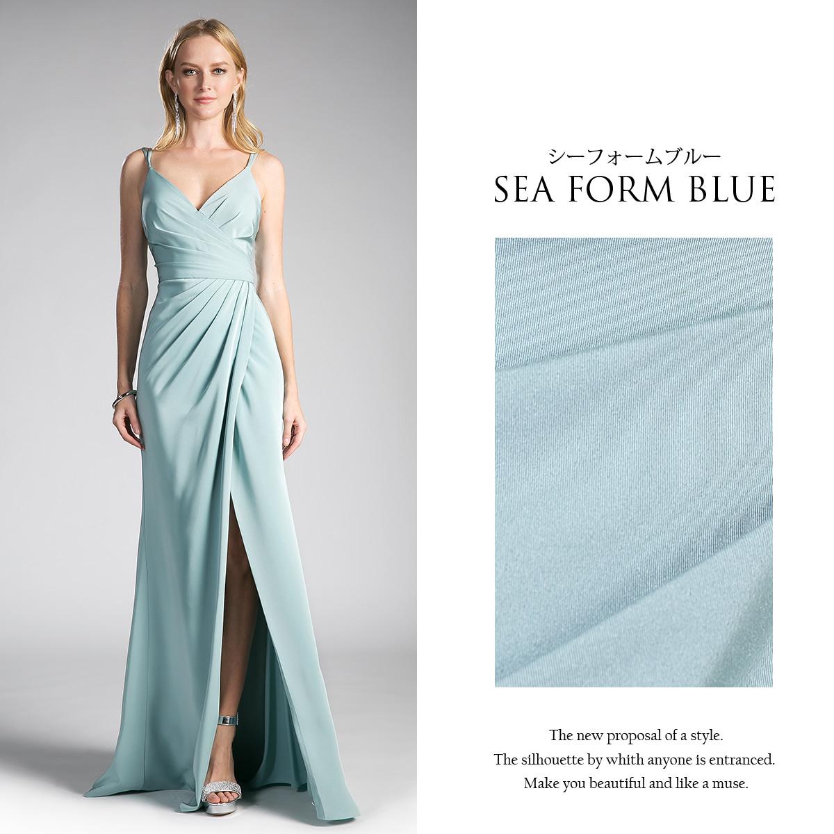 Rs Gown | Rakuten Global Market: Silky satin lap long dress &lt ...