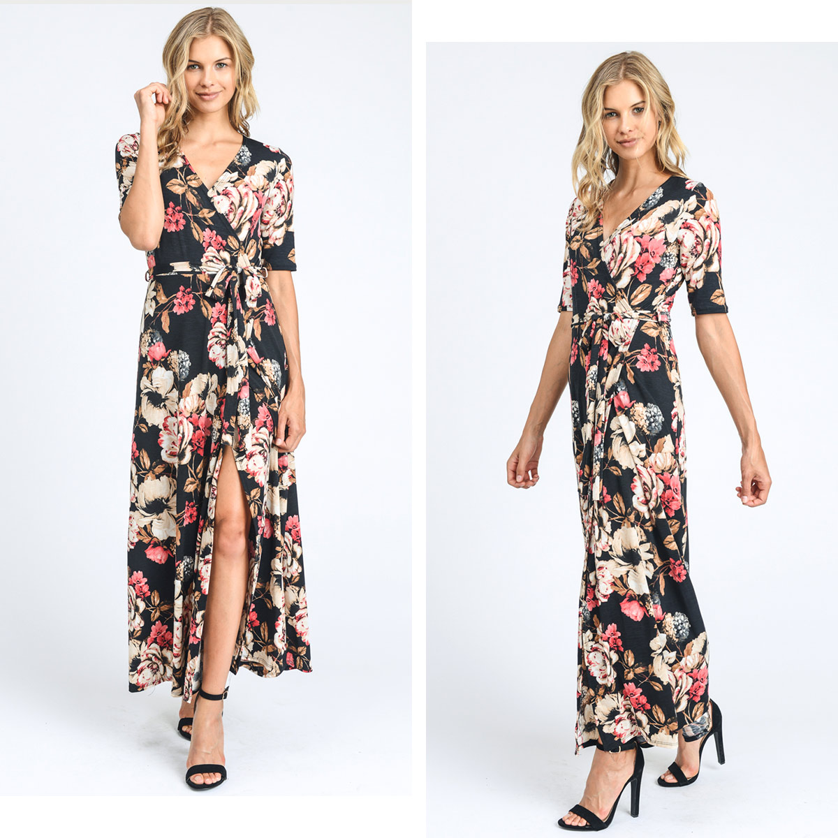 13eb3ffab The arrival limited number of than American N.Y! The maxi dress of the lap  type. One piece that a feeling of flexible omission is beautiful