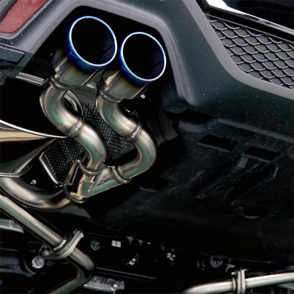 【 トヨタ クラウン 2.0L 型式 3BA-ARS220 エンジン形式 8AR-FTS 年式 2018/6- ≪ 2.0Lターボ RSグレード専用 ≫】≪ テール:90Φ 左右計4本出し仕様 ≫【 HKSマフラー スーパーターボマフラー 】【 品番 31029-AT002 】