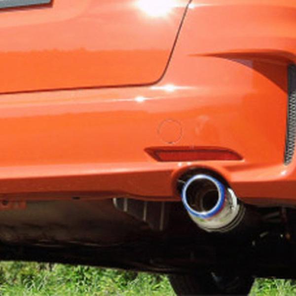 【 ホンダ フィットハイブリッドRS 型式 GP4 エンジン形式 LEA-MF6 年式 2012/5-2013/8 モデューロリアロアスカート/無限エアロ可 ≪ チタンブルーテール仕様 テール:94Φ メインのみ ≫】【 HKSマフラー ハイパワースペックL2 】【 品番 31019-AH129 】
