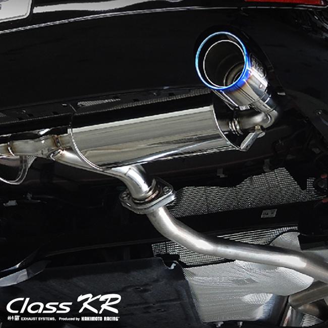 【 マツダ3 MAZDA3 ファストバック 2.0L-NA 4WD 型式 5BA-BPFP エンジン形式 PE-VPS 6AT車 年式 2019/7- グレード 20S/20Sプロアクティブ/20S-L ≪ テール:115Φ チタンフェイス仕様 左右計2本出仕様 ≫≪ 品番:Z71341C ≫】 柿本改マフラー 【 ClassKRマフラー 】