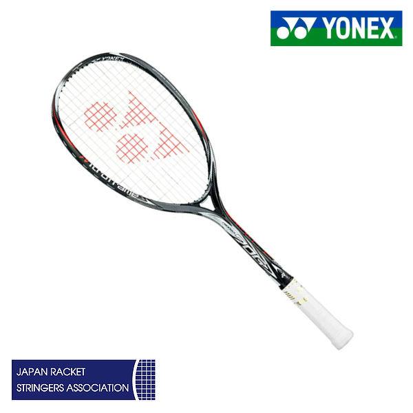 【限定品】 ネクシーガ70Gリミテッド NXG70GLD ヨネックス ソフトテニスラケット ブラック/レッド UL0 UL1 SL1