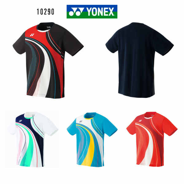 ヨネックス YONEX メンズ ゲームシャツ フィットスタイル 10290 ブラック ホワイト マリンブルー ファイヤーレッド M L O  大感謝祭