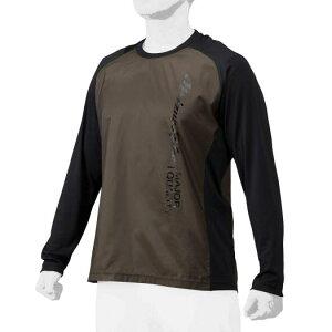 アンダーシャツとしても着用できる 胸の大胆なロゴが特徴のトレーニングジャケット ミズノプロ 驚きの値段 新商品 mizunopro 限定トレーニングウエア トレーニングカケット 2021AW ユニセックス ブラック 野球 12JE1J7309 ロングスリーブシャツ