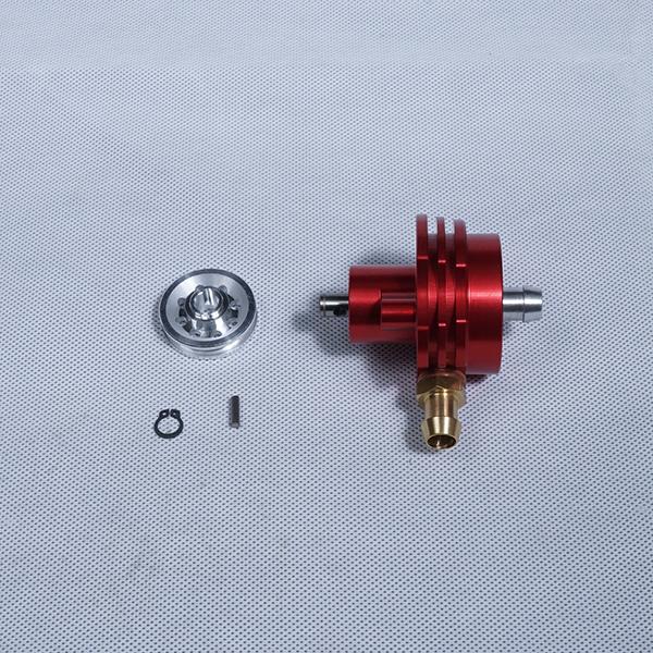 CS RACING ファクトリー用ウォーターポンプ D35 レッド Factory Water Pump D35 Red